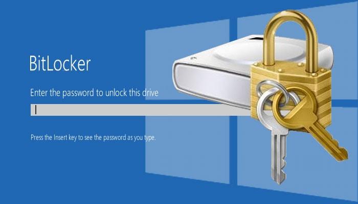بازیابی رمز Bitlocker