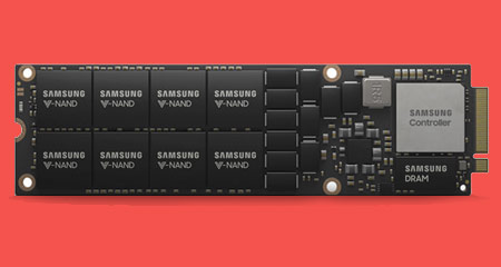 سامسونگ تولید انبوه حافظه ۸ ترابایتی SSD را آغاز کرد