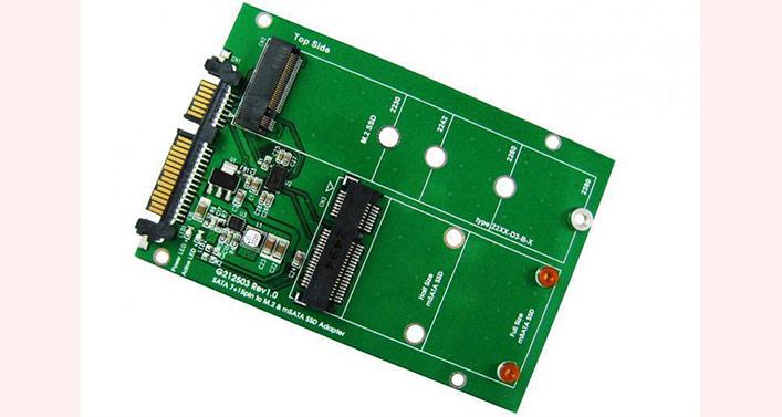 فروش مبدل کارت حافظه M2 mac ir  به SATA